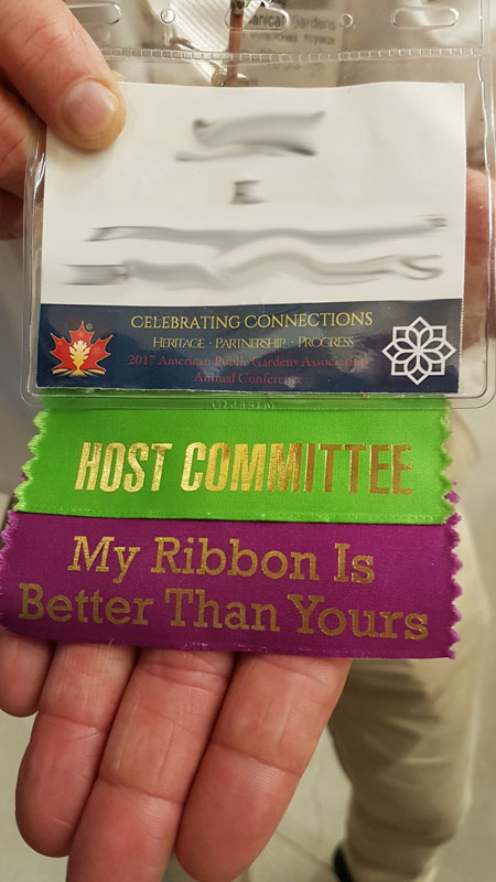 Best Conference Badge, ever :)