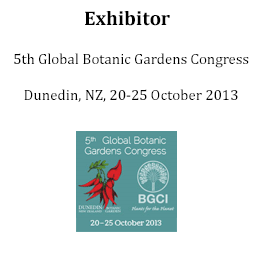 Exhibitor at 5th BGCI Congress