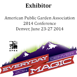 Sponsor and Exhibitor of American Public Garden Assocation Conference 2014