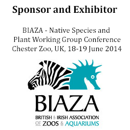 Sponsor and Exhibitor of BIAZA 2014