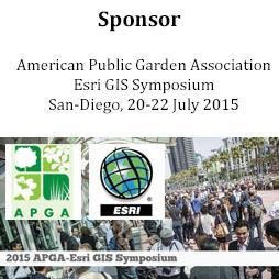 Sponsor of APGA Esri GIS Symposium 2015