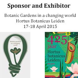Hortus Botanicus Leiden Conference 2015
