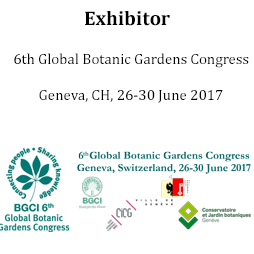 Exhibitor at 6th BGCI Congress