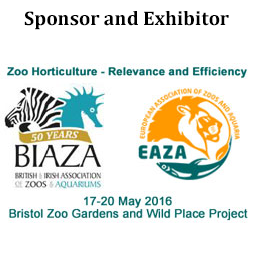 Sponsor and Exhibitor of BIAZA 2016